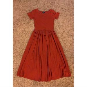 ASOS Rust Long Dress - 2L